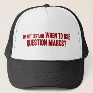 Question Marks Trucker Hat