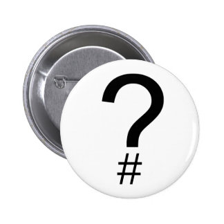 Question Tag/Hash Mark Button