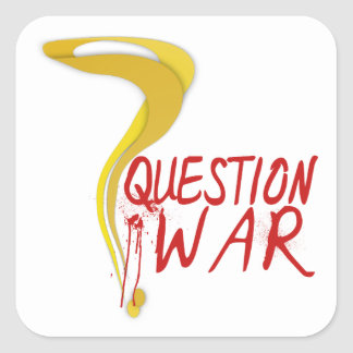 Question War Stickers (comes in sheets)
