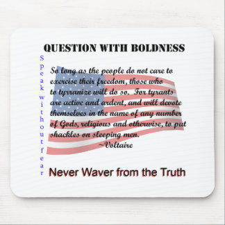 Question with Boldness Mouse Pad
