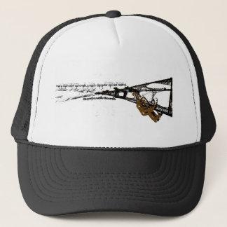 Questionable Tower Trucker Hat