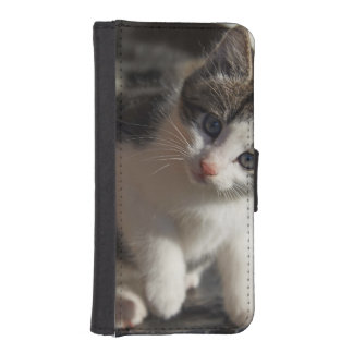 QUESTIONING KITTY iPhone SE/5/5s WALLET