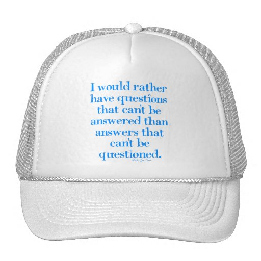 Questions and Answers Mesh Hats