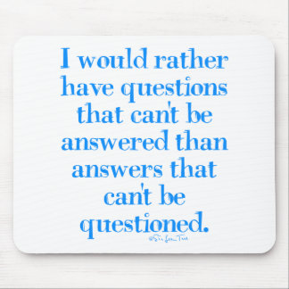 Questions and Answers Mouse Pad