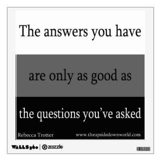 Questions and Answers Wall Sticker