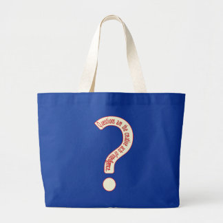 Questions Bag for Dark Colors