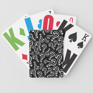 Questions Bicycle Playing Cards