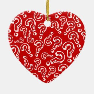 Questions Ceramic Ornament