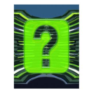 QUESTIONS environmental global warming NVN249 Custom Letterhead