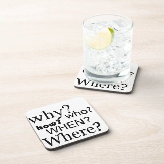 Questions Questions Drink Coaster