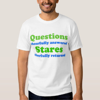 Questions / Stares T Shirt