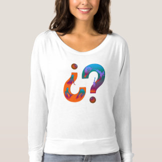 Questions yoga t-shirt