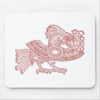Quetzal Bird Mouse Pad