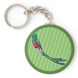 Quetzal Keychain