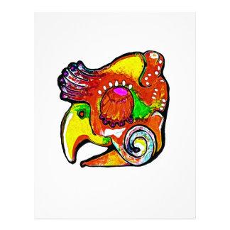 quetzal personalized letterhead
