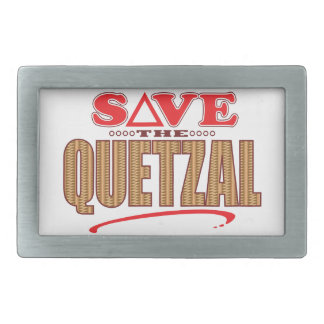 Quetzal Save Belt Buckle