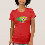 Hand shaped Quetzal t-shirt