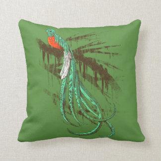 Quetzal Throw Pillows