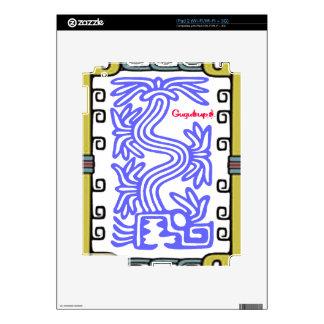 QUETZALCOATL AZTEC MAYA 09 CUSTOMIZABLE PRODUCTS iPad 2 SKINS