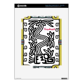 QUETZALCOATL AZTEC MAYA 10 CUSTOMIZABLE PRODUCTS iPad 3 DECALS