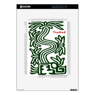 QUETZALCOATL AZTEC  SPIRIT 02 CUSTOMIZABLE PRODUCT SKIN FOR iPad 2