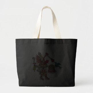 Quetzalcoatl Canvas Bags