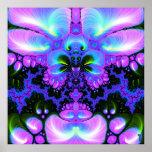 Quetzalcoatl Blossom V 1  Art Print