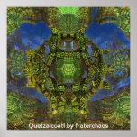 Quetzalcoatl by fraterchaos print