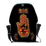 Quetzalcoatl Hand Courier Bag