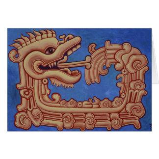 Quetzalcoatl   Holiday card