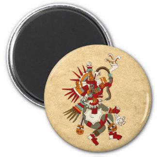 Quetzalcoatl Imán Redondo 5 Cm