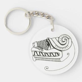 Quetzalcoatl Keychain