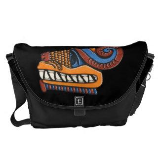 Quetzalcoatl Large Messenger Bag