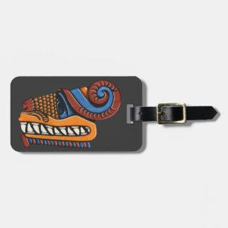 Quetzalcoatl Luggage Tag