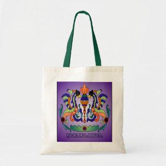 Quetzalcoatl Mayan God Tote Bag