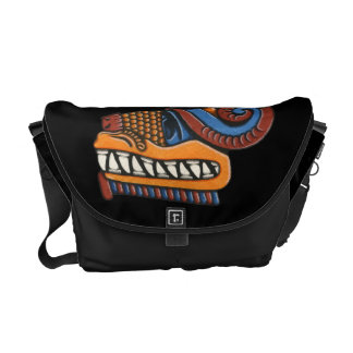 Quetzalcoatl Medium Messenger Bag