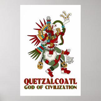 Quetzalcoatl Poster