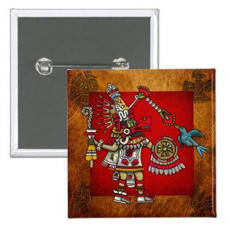Quetzalcoatl Pin Cuadrado