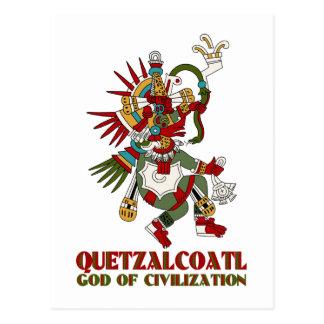 Quetzalcoatl Post Card