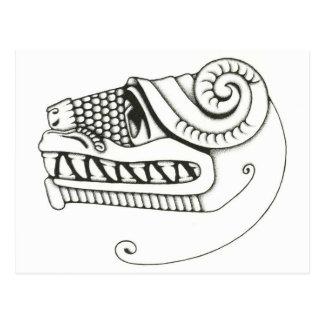 Quetzalcoatl Postcard