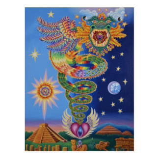 Quetzalcoatl Returns postcard