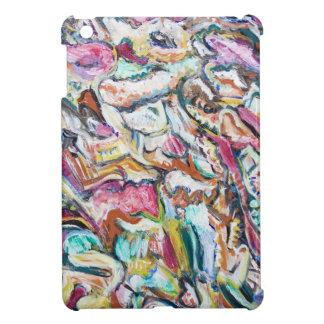Quetzalcoatl rosado (expresionismo abstracto) iPad mini protectores