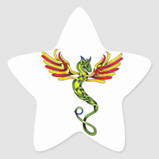 Quetzalcoatl Star Sticker
