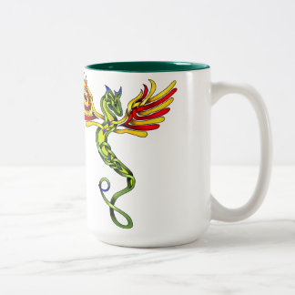 Quetzalcoatl Two-Tone Coffee Mug