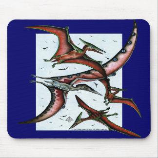Quetzalcoatlus entre Pterosaurs Mousepad