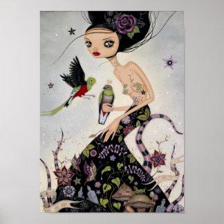 Quetzals Poster