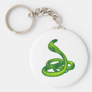 Queue Kobra snake cobra Key Chains
