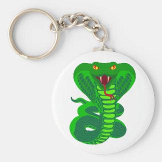 Queue Kobra snake cobra Keychain