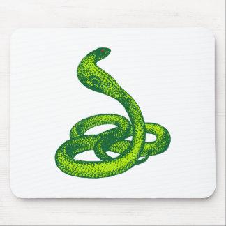 Queue Kobra snake cobra Mouse Pad
