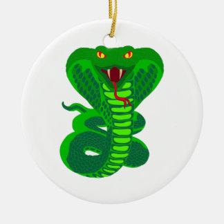 Queue Kobra snake cobra Christmas Tree Ornament